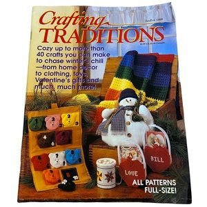 Vintage 90's Crafting Traditions Magazine